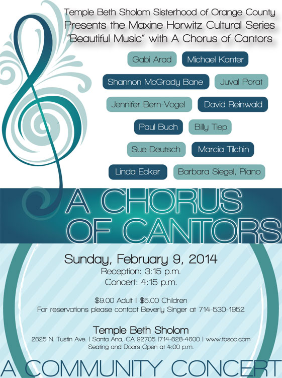 Chorus of Cantors