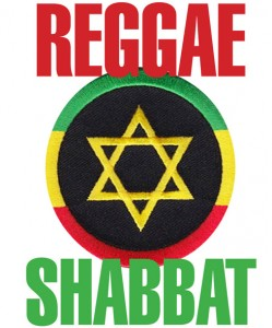 Reggae Shabbat Graphic