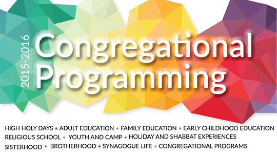 Congregational Programming